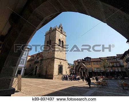 Picture of Iglesia Nuestra Sra. de Oliveira. Guimaraes. Portugal.