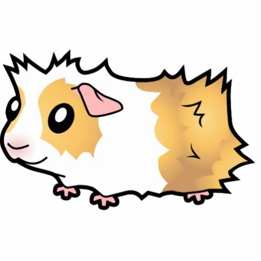 Cartoon Guinea Pig Clipart.