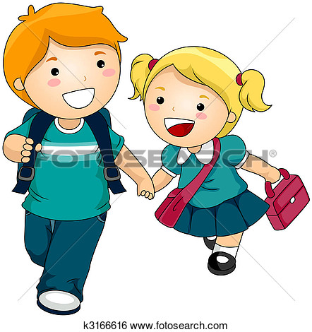 Coming To School Clipart.