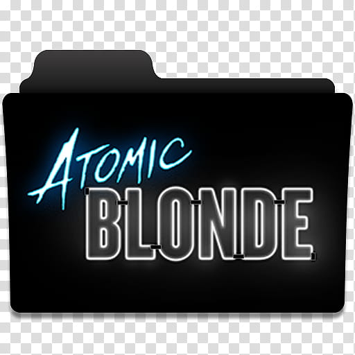 Atomic Blonde Movie Folder Icon , AtomicBlonde_ transparent.