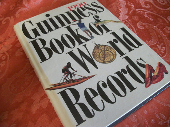 Guinness World Record Book Clipart.