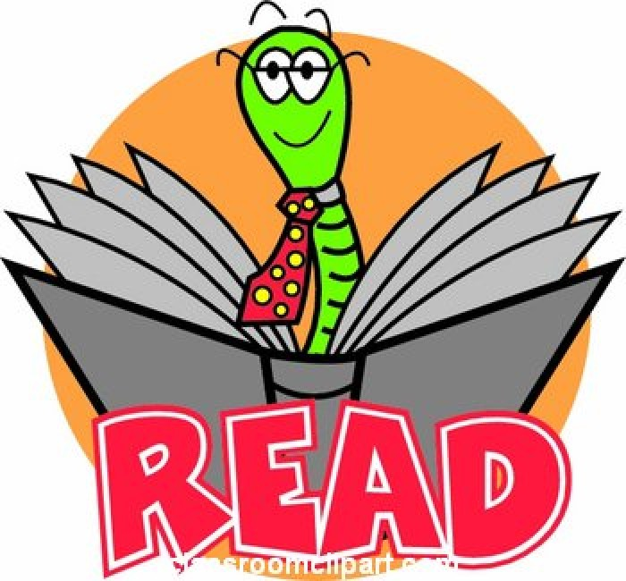 Reading record clipart.