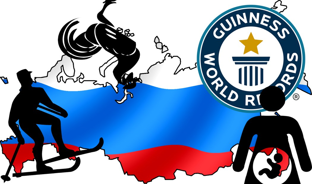 9 bizarre Guinness World Records from Russia you should know about.