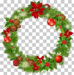 Guirnalda de navidad decoración PNG cliparts descarga.