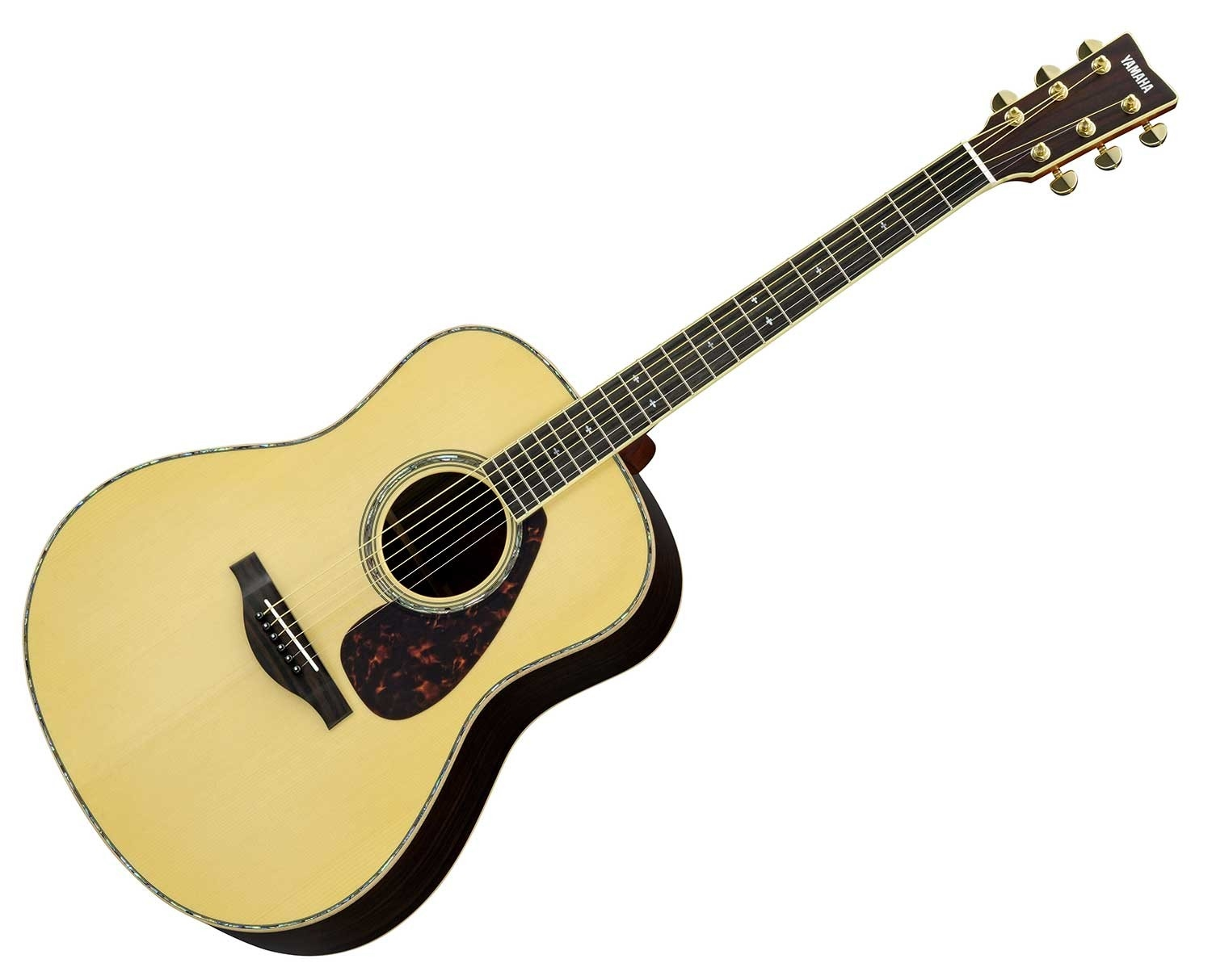 Yamaha LL16RD Handcrafted Acoustic Guitar With Hard Case.