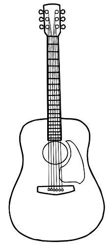 Yli tuhat ideaa: Acoustic Guitar Art Pinterestissä.
