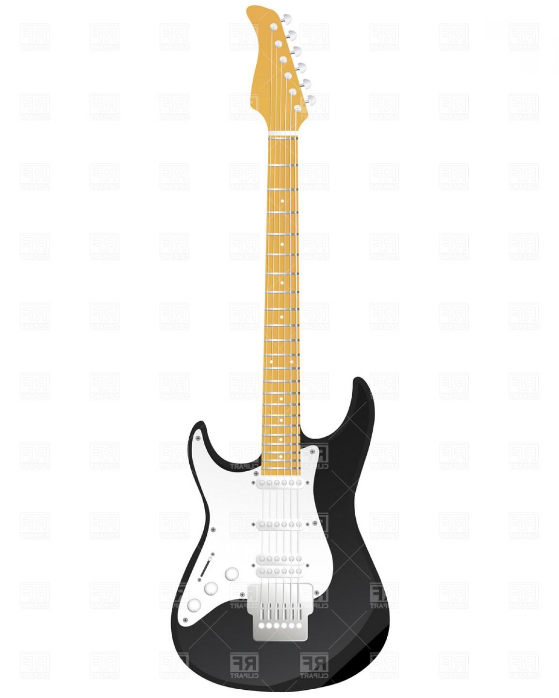 Excellent Guitar Vector Art Design.