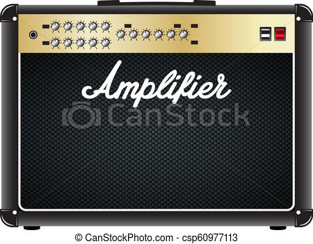 Guitar combo amplifier, amp..