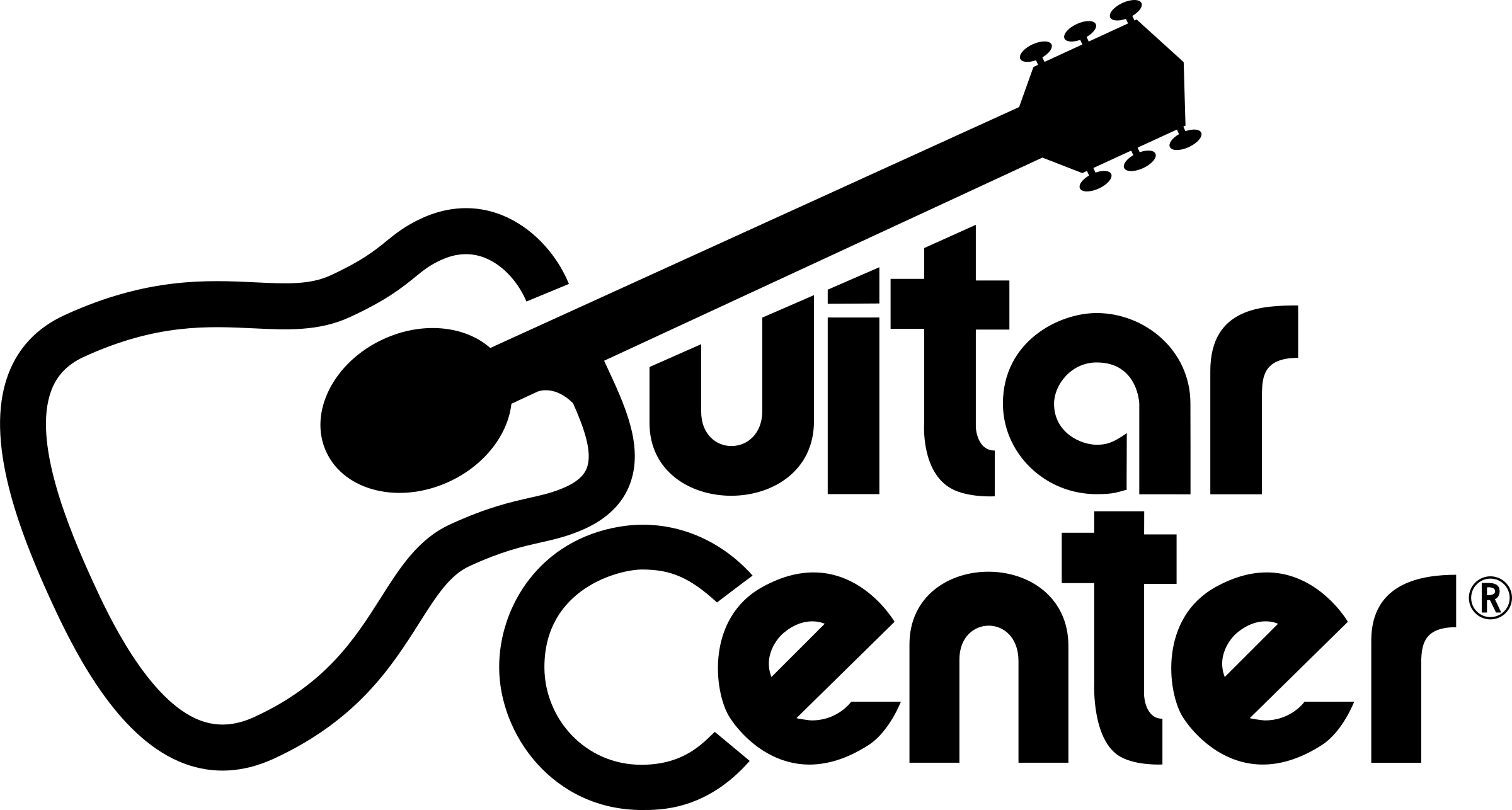 Guitar Center Logo PNG Transparent & SVG Vector.