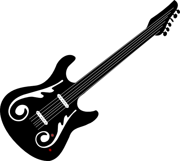 Guitar Clip Art at Clker.com.