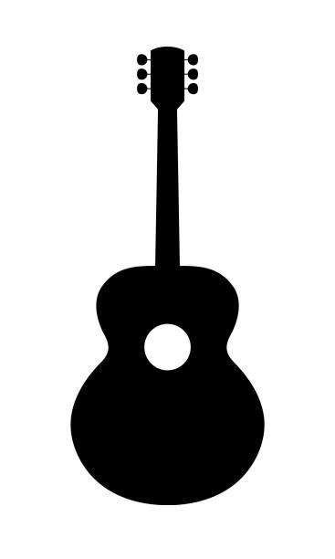 Best Guitar Neck Illustrations, Royalty.