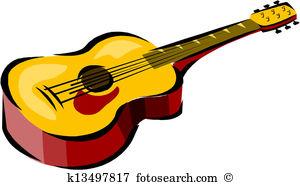 Guitar clipart Clip Art Vector Graphics. 818 guitar clipart EPS.
