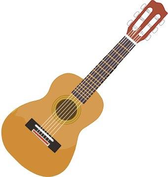 60 Free Guitar Clip Art.