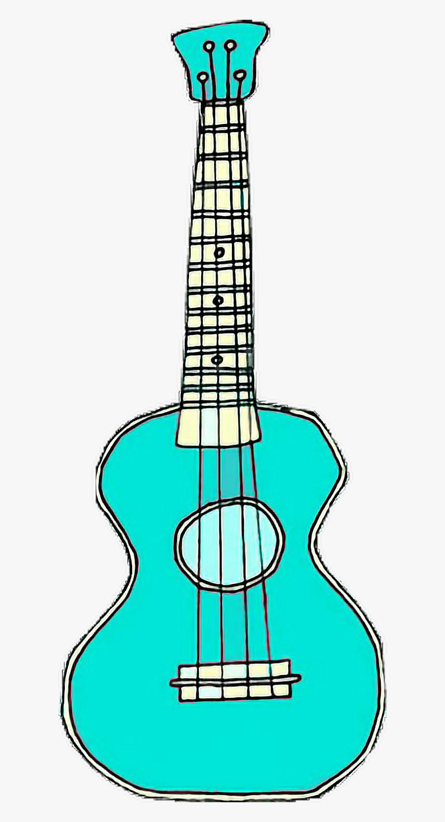 guitar #ukelele #blue #aqua #pastel #music #overlay.