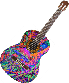 Popular and Trending guitar Stickers on PicsArt.