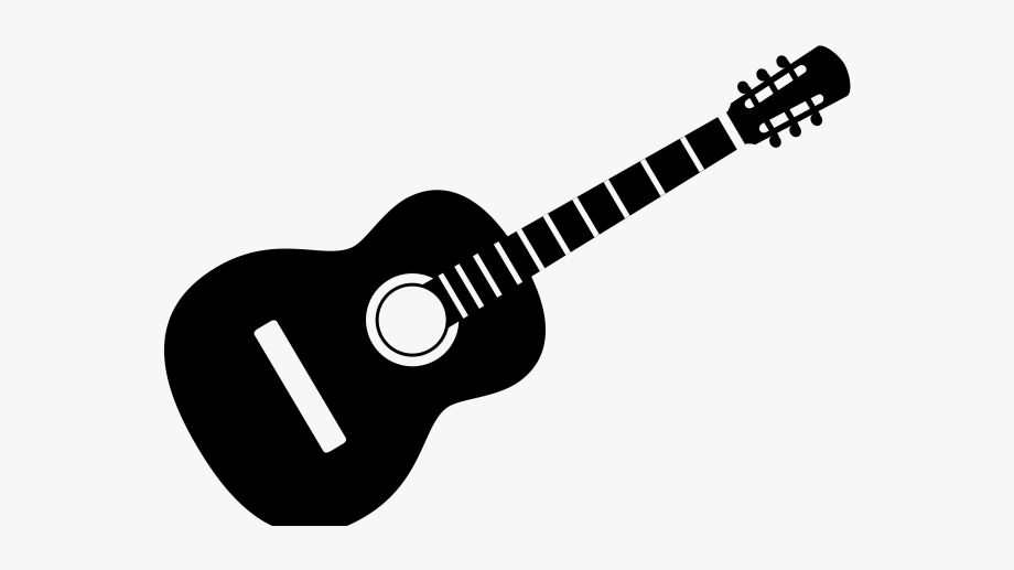 Acoustic Guitar Clipart Cancer Ribbon.