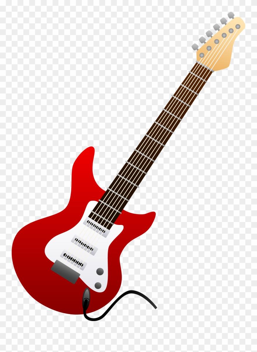 42 Guitar Clip Art.