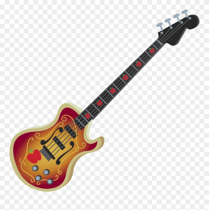 Bass Guitar Clipart Transparent Background.
