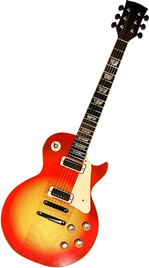 Guitar Transparent Clipart.