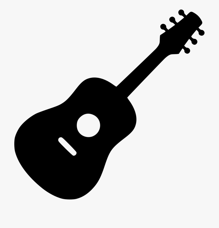 Acoustic Guitar Clipart Svg.