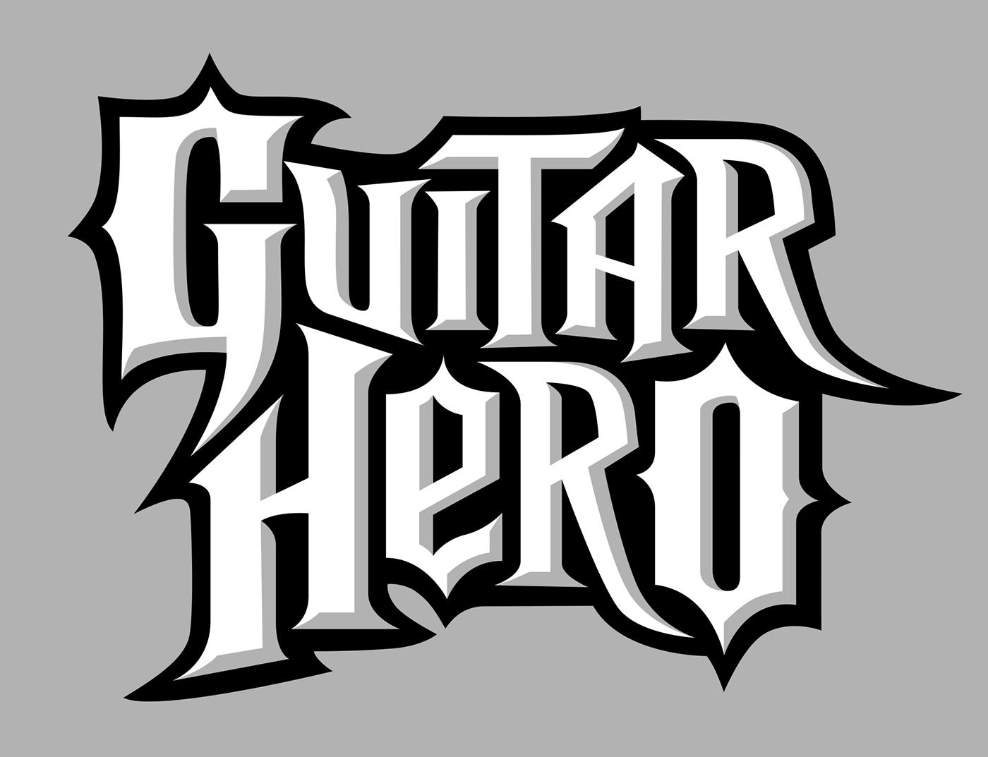Guitar Hero Logo on Behance.