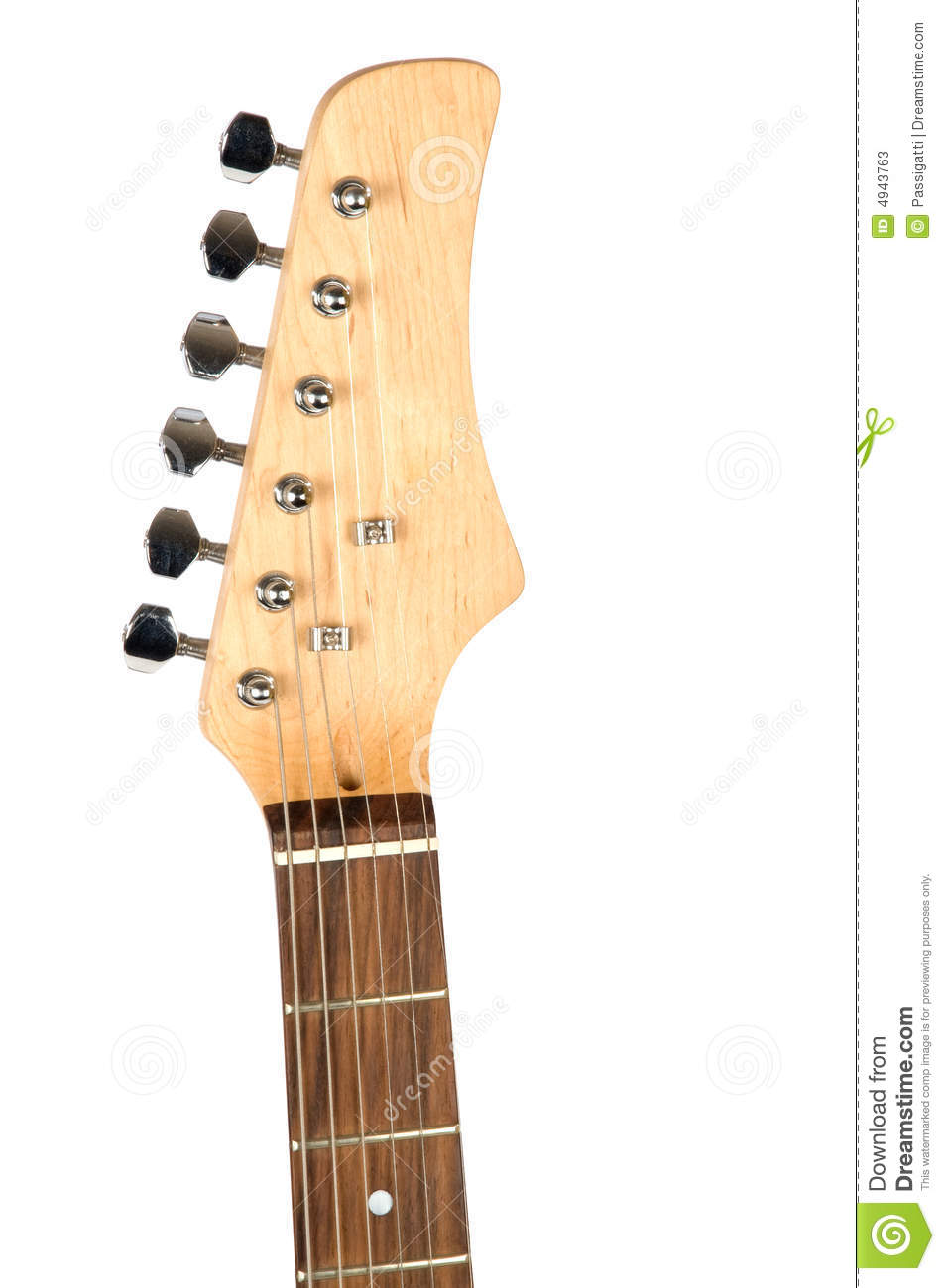 Guitar Neck Close.