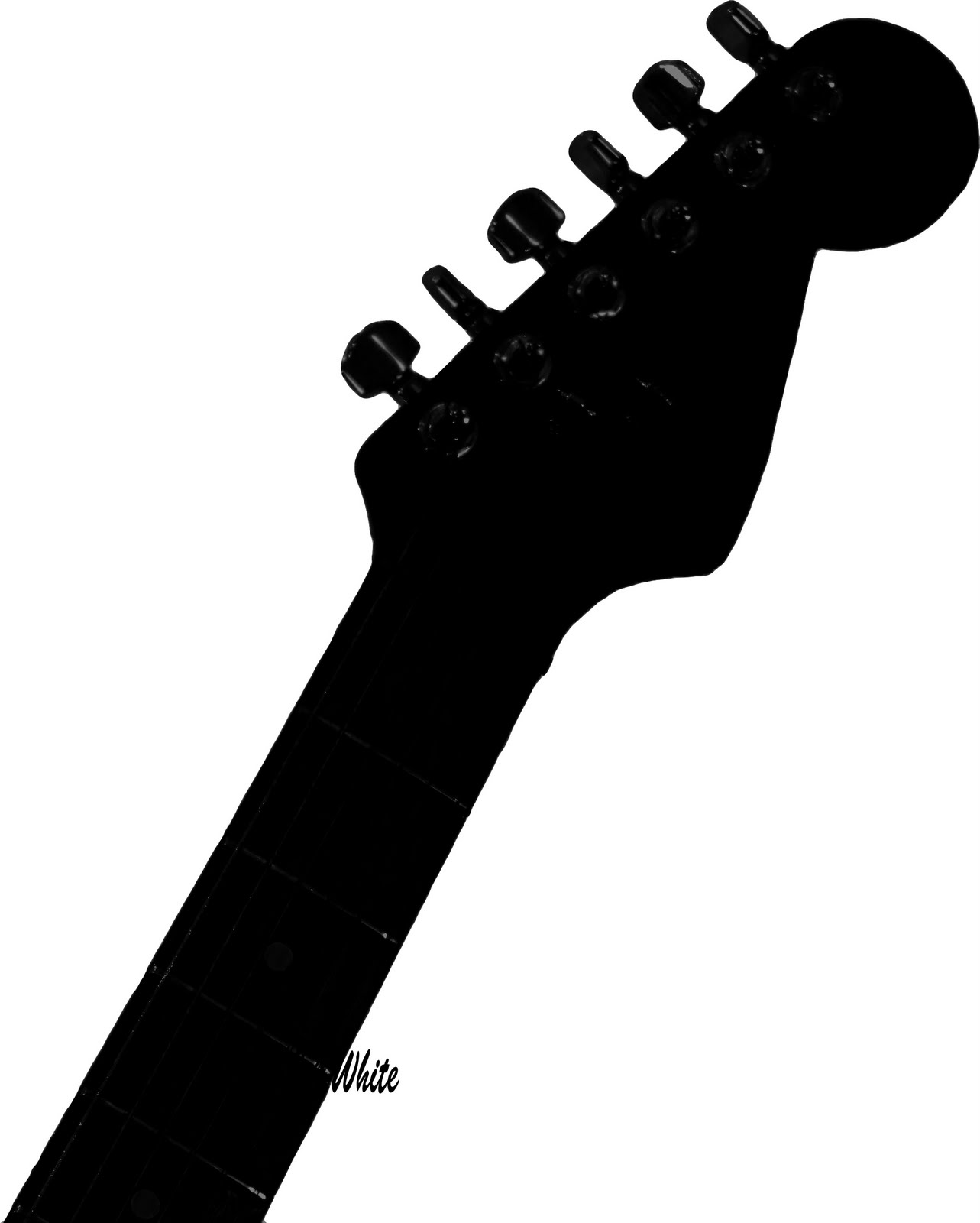 Guitar neck clipart.