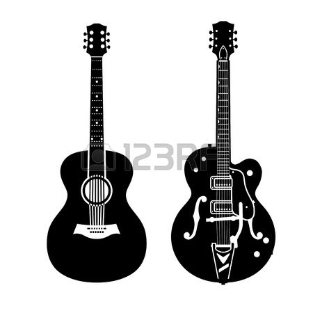 3,064 Neck Of The Guitar Stock Vector Illustration And Royalty.