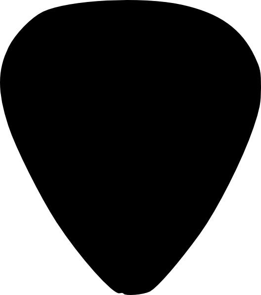 Guitar picks clipart.