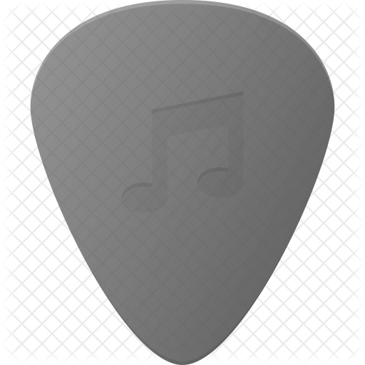 Guitar pick Icon.