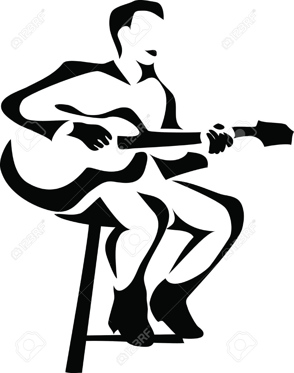 5,349 Guitar Player Stock Illustrations, Cliparts And Royalty Free.