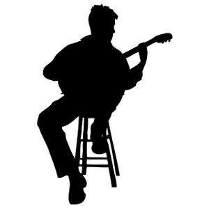 Guitar Player Clipart.
