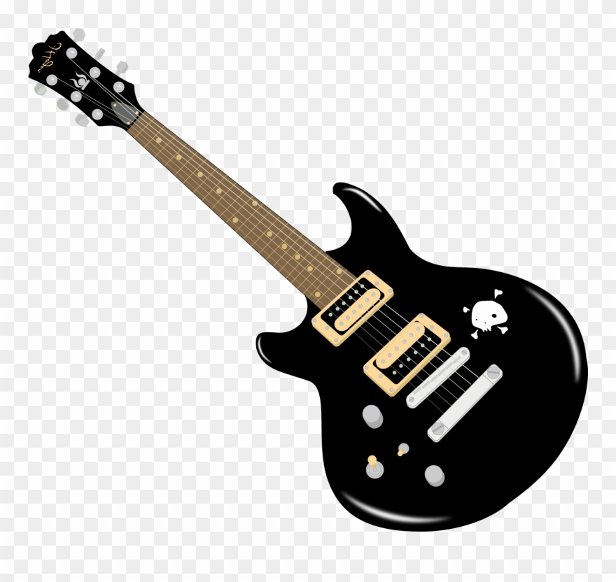 Free Clipart Guitar.