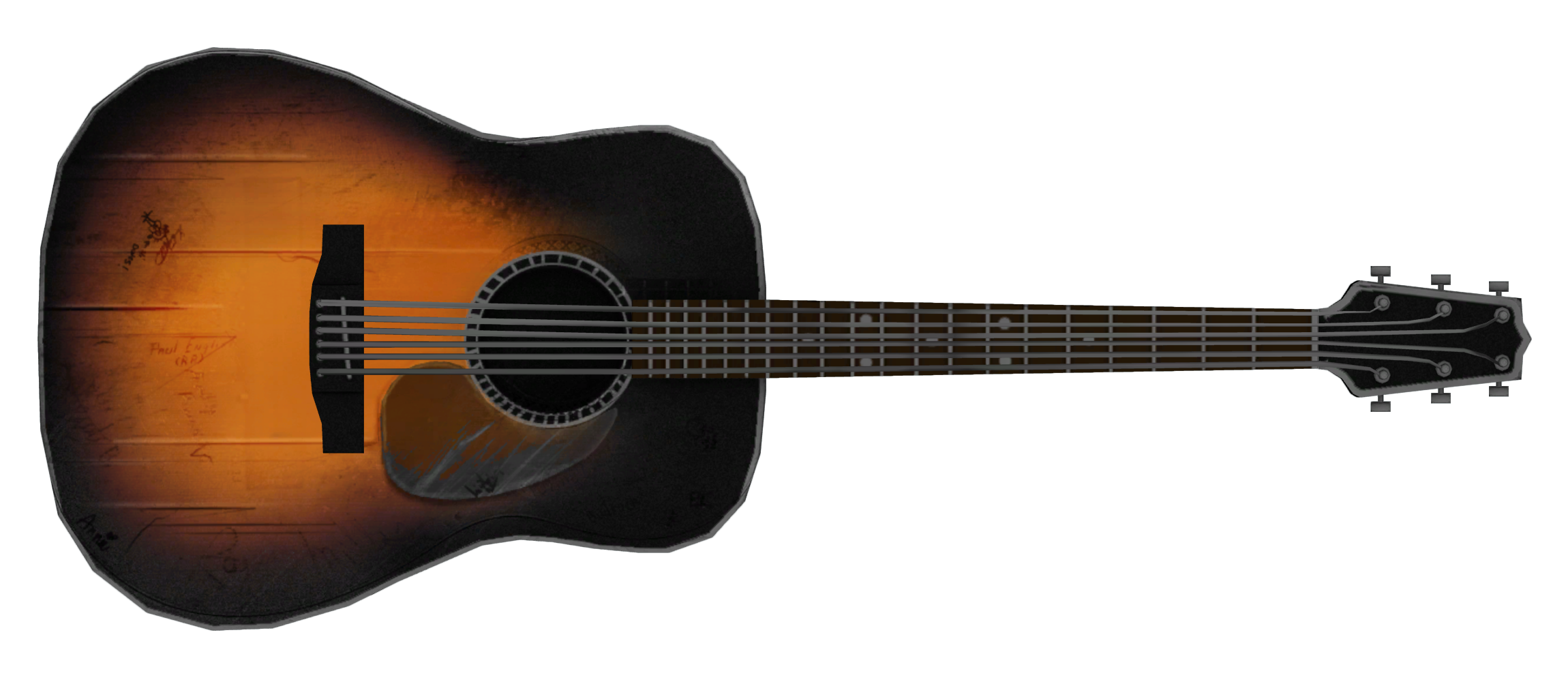 Acoustic guitar png clipart images gallery for free download.