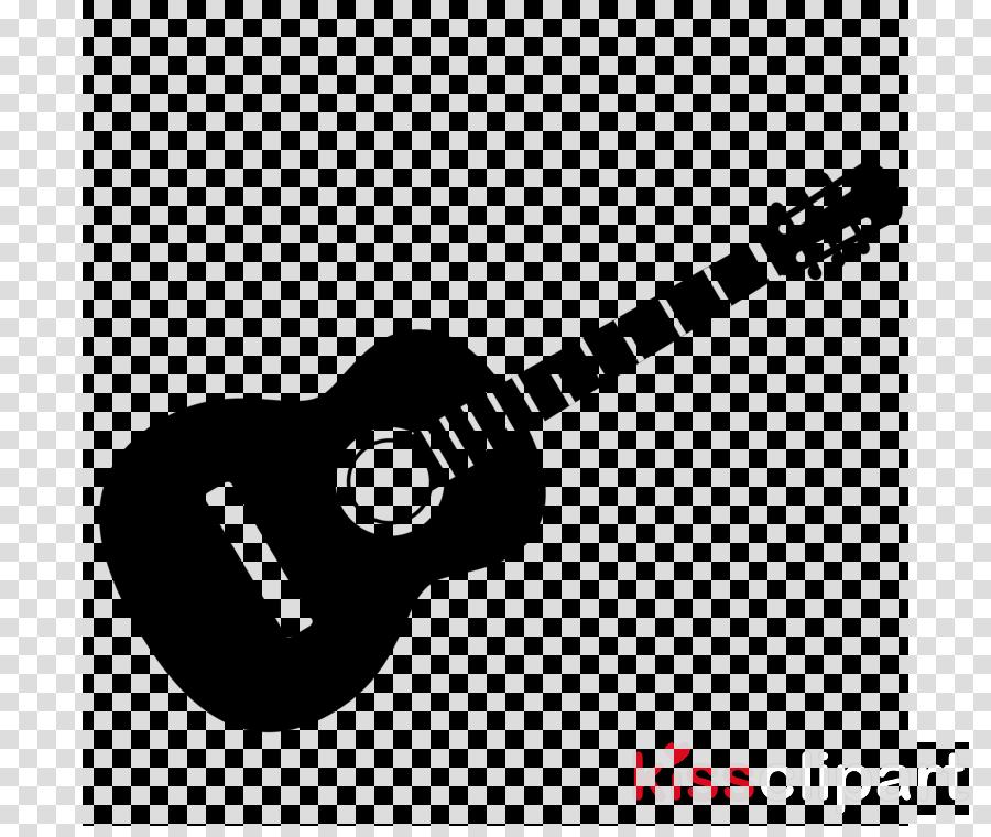 Guitar Cartoon clipart.