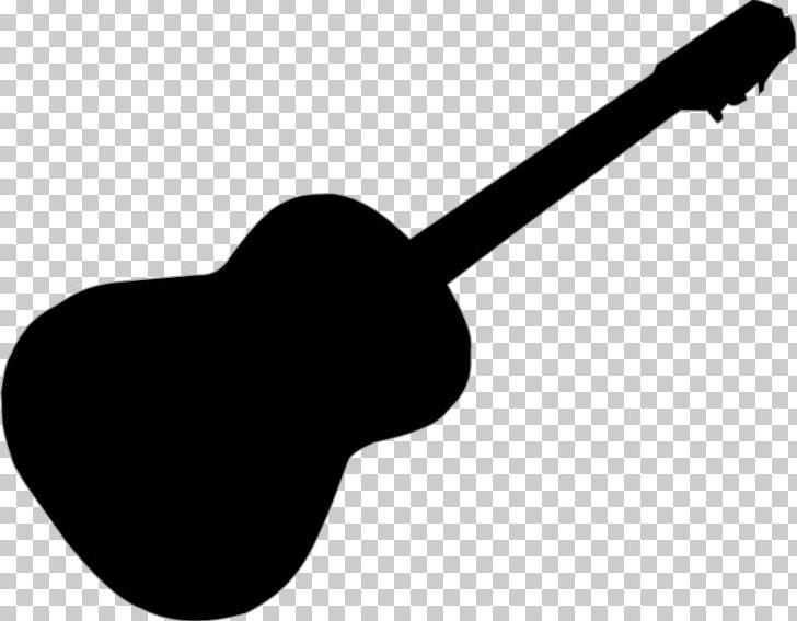 Electric Guitar Silhouette Music PNG, Clipart, Acoustic Guitar.
