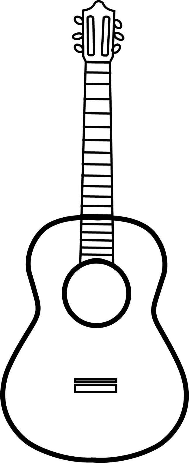 Guitar Outline.