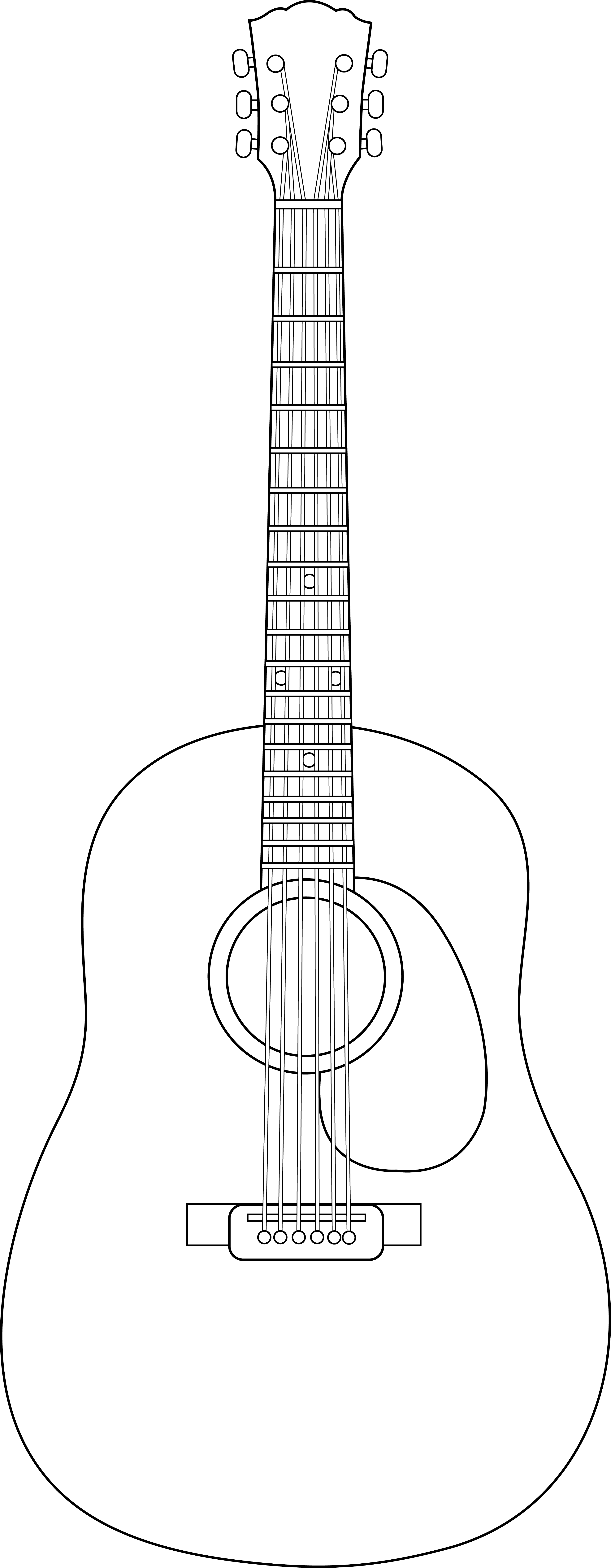 guitar strings clipart