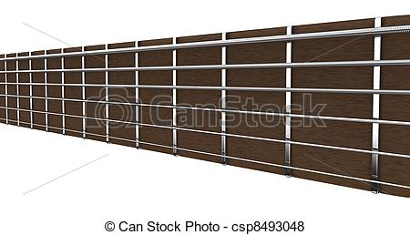 Stock Illustration of Guitar strings.