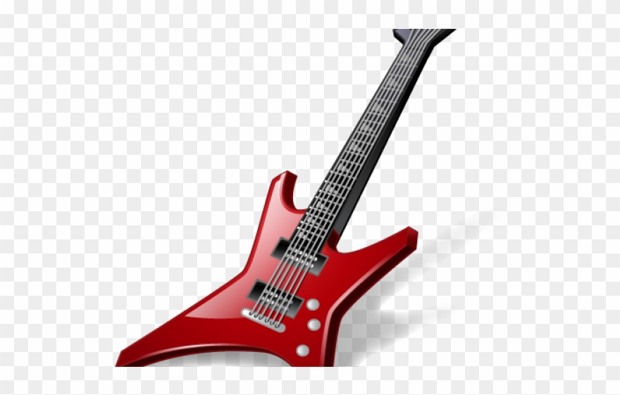 Rock Clipart Guitars.