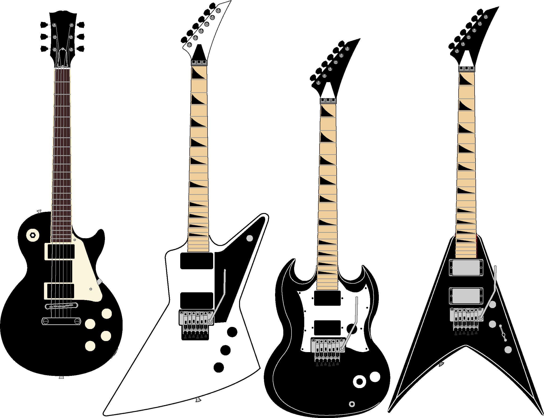 Free Guitar Vector, Download Free Clip Art, Free Clip Art on Clipart.