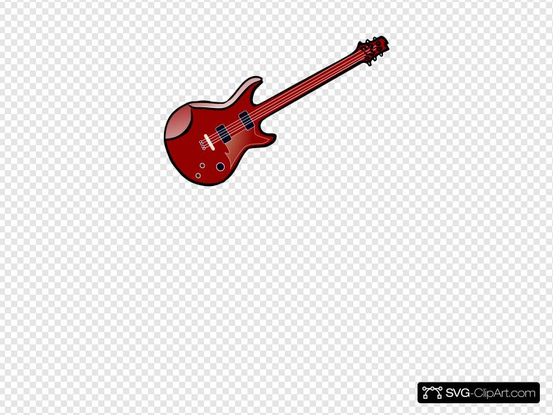 Guitar Vector Clip art, Icon and SVG.