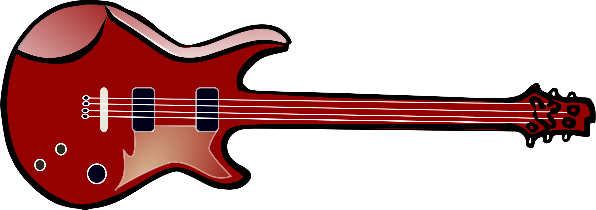 Electric Guitar Clipart.