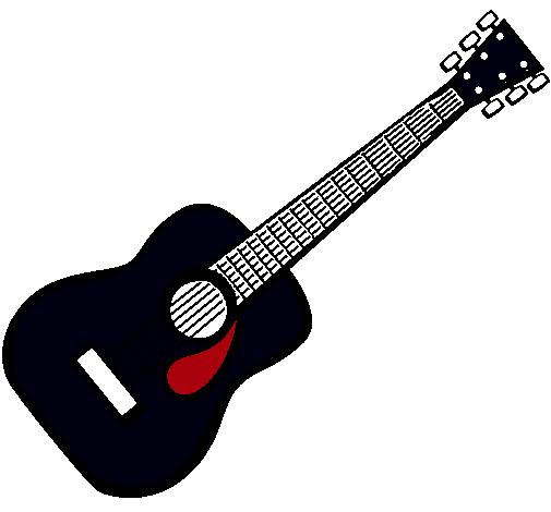 Guitarra dibujo png 7 » PNG Image.