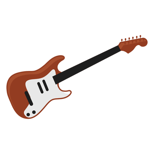 Electric guitar illustration.