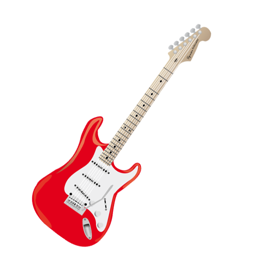 Guitarra Animada Png Vector, Clipart, PSD.
