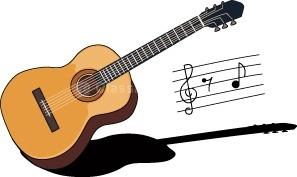 Guitars clip art.