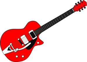 Pictures of guitars clipart.