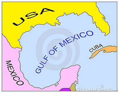 Gulf Of Mexico Clipart.