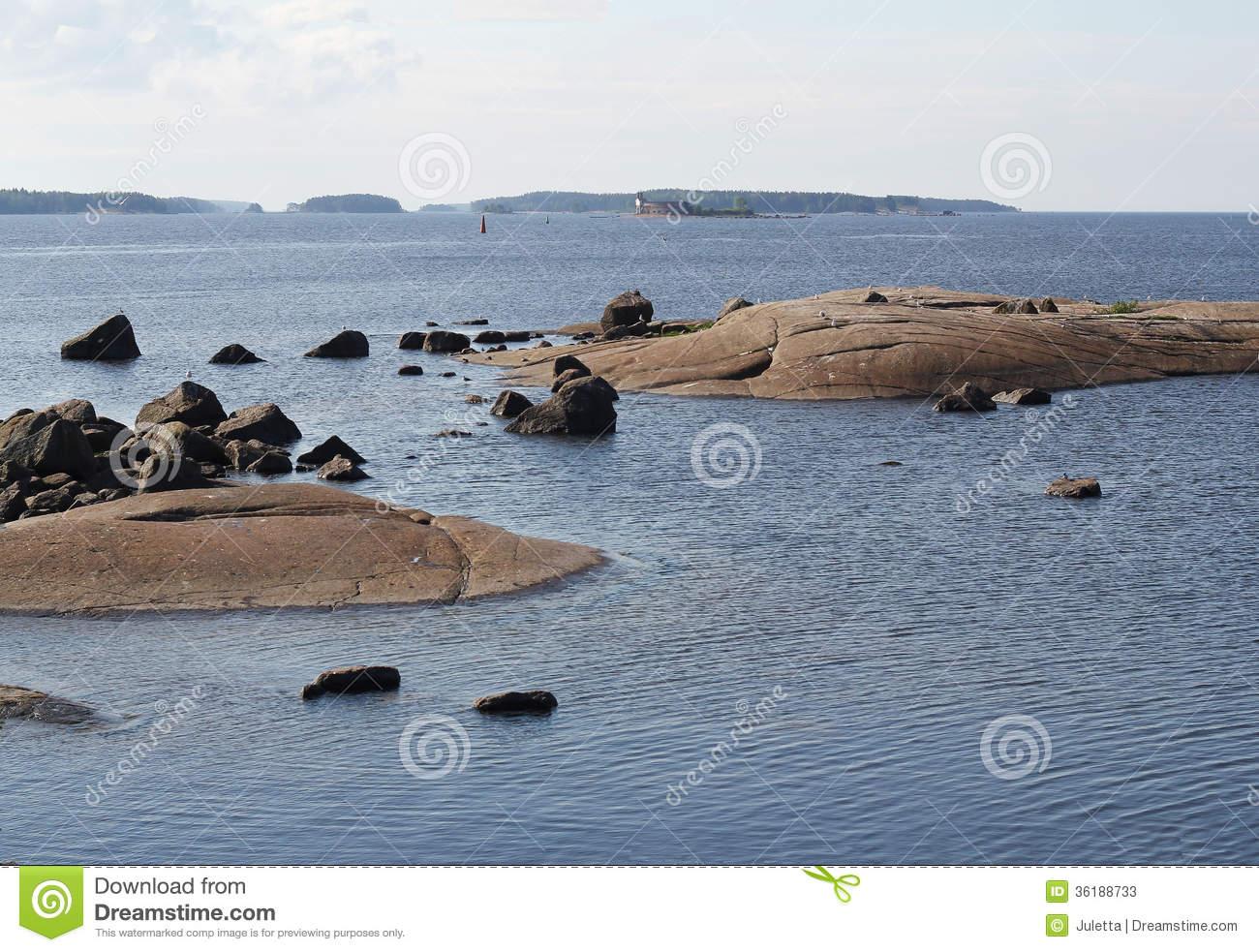 Gulf Of Finland. Stock Photos.